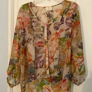Urban Outfitters pins and needles blouse size M